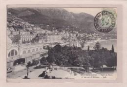 MONACO - MONTE-CARLO - COMMERCES - CAFES - Café De Paris Et Vue Sur Saint-Romain - Bars & Restaurants