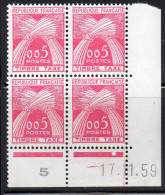 Timbre Préoblitéré  N° 90**,type Timbre Taxe 0,05 F