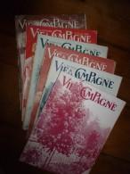Rare (belles Publicités: Goefft,Erel,Sem,etc)  1930 VIE A LA CAMPAGNE :6 Numéros (janvier,février,mars, Avril,mai,juin) - 1900 - 1949
