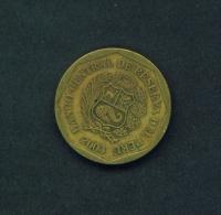 PERU  -  2003  10c  Circulated Coin - Peru