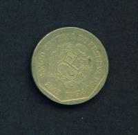 PERU  -  2003  50c  Circulated Coin - Peru