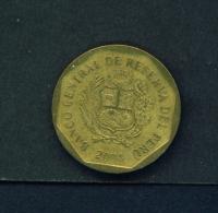 PERU  -  2004  20c  Circulated Coin - Peru