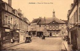 58 LORMES  Place De L'Hôtel De Ville - Lormes