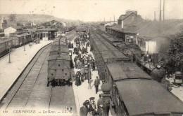 60 COMPIEGNE  La Gare - Compiegne