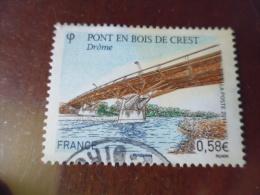 FRANCE TIMBRE OBLITERATION CHOISIE   YVERT N°4544 - Francia