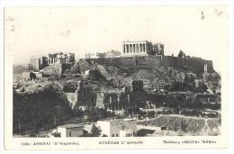 Greece Grece  Athens Acropolis  Posted - Grecia