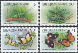 Christmaseiland  Butterflies - Vlinders