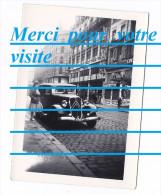 Photo Voiture Automobile CITROEN ROSALIE Immatriculée 6956 PF 5 LYON Rue De La République Magasins Henri ESDERS CINEMA - Automobili