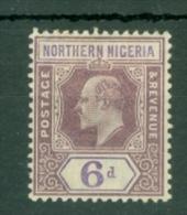 Northern Nigeria: 1902   Edward    SG15     6d     MH - Nigeria (...-1960)