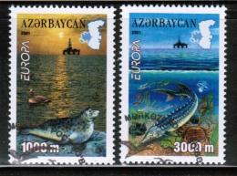 CEPT 2001 AZ MI 494-95 A USED AZERBAIJAN - Europa-CEPT