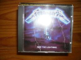 CD : Métallica - Ride The Lightning - Hard Rock & Metal