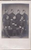 Remiremont 88 - Militaria - Carte-Photo 1909 Chasseurs Alpins - Les Bleus De La Chambre - Remiremont