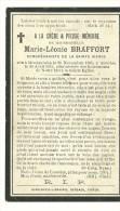 Marie Léonie Braffort  Montquintin 1895 -1915 - Rouvroy