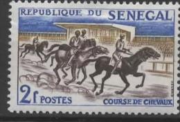 SENEGAL 1961 Sports - 2f Horse Race  MH - Senegal (1960-...)