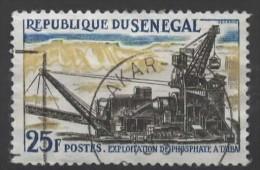 SENEGAL 1964 Senegal Industries - 25f Working Phosphate At Taiba FU - Senegal (1960-...)