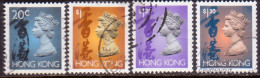 HONG KONG 1996 SG #702bp//709bp Used Selection All With Two Phosphor Bands - Used Stamps