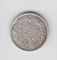 EGYPT Ghirsh 1293/33 Silver, Very Nice Grade (egy315) - Egitto