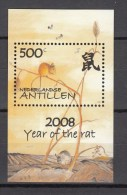 Ned Antillen Antilles 2008,1V In Block,rat.ratte,rata,topo, MNH/Postfris(L2046) - Knaagdieren
