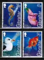 CEPT 2001 GI MI 962-65 USED GIBRALTAR - Europa-CEPT