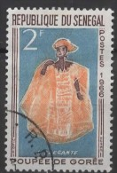 SENEGAL 1966 Goree Puppets - 2f The Lady Of Fashion FU - Senegal (1960-...)