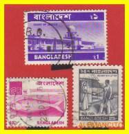 BANGLADES  3 SELLO S AÑO 1973 - Bangladesh
