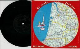 Disque Publicitaire ESSO Régions France - Route Joyeuse Sans N°- Chansons Populaires Fandangos Basques; Chant Toulousain - Vinyles