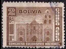 A936 - Bolivia 1939 - The Second National Eucharistic Congress - Bolivia