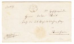 Heimat ZH MARTHALEN 19.7.1958 Auf Amstbrief - Lettres & Documents