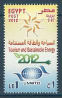 Egypt 2012 ( World Tourism Day - Tourism & Sustainable Energy ) - MNH (**) - Nuovi