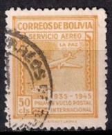 A939 - Bolivia 1945 - Panagra Airways, The 10th Anniversary Of The First La Paz-Tacna Flight Used - Bolivia