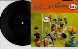 Disque Publicitaire ESSO Régions De France - La Route Joyeuse N° 02 - Chansons Populaires De ARTOIS Et FLANDRE - Vinyles