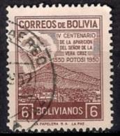 A941 - Bolivia 1950 - The 400th Anniversary Of The Apparition At El Potosi  Used - Bolivia