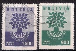 A944 - Bolivia 1960 - World Refugee Year  Used - Bolivia