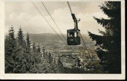 4027 Ceskoslovensko, Stationery Card  Circuled 1951 Liberec, Cableway, Telepherique - Autres