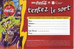 - COCA COLA - Bulletin De Jeu 2000 - - Coca-Cola