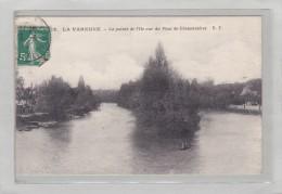 SAINT MAUR DES FOSSES - 94 - (LA VARENNE SINT HILAIRE)- La Pointe De L'Ile Vue Du Pont De Chennevieres- Petite Animation - Saint Maur Des Fosses