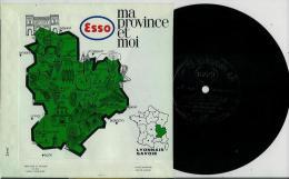Disque Publicitaire ESSO Régions De France - LYONNAIS Et SAVOIE N° 04 - 20 Disques De Differentes Régions - Andere