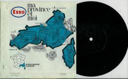 Disque Publicitaire ESSO Régions De France - PROVENCE Et CORSE N° 05 - 20 Disques De Differentes Régions - Andere