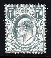 Great Britain MH Scott #145 7p Edward VII, Grey - 1902-1951 (Rois)