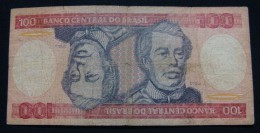 BRAZIL 100 CRUZEIROS ND 1990, VF. - Brésil