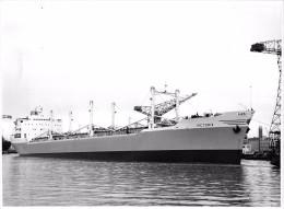 """SAINT-NAZAIRE  -   Cliché Du Bateau De Commerce """" VICTORIA """"  -  Cargo   -  Voir Description - Saint Nazaire"""