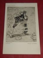 """MILITARIA - """" Après Le Lusitania - Le Cauchemar D´Hérode  """" - L. Raemaekers Illustrateur - (2 Scans) - Patriottisch"""