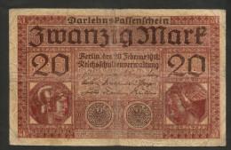 DEUTSCHLAND - DEUTSCHES REICH - 20 MARK (BERLIN -  1918) - Germany - 20 Mark