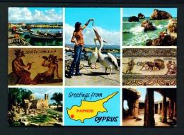 CYPRUS  -  Multi View  Used Postcard As Scans - Cyprus