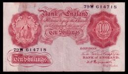 Great Britain 10 Shillings 1948-1949 P.368a F - …-1952 : Before Elizabeth II