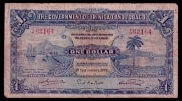 Trinidad & Tobago 1 Dollar 1935 Rare Date VG - Trinité & Tobago