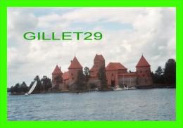 LETTONIE - TRAKAI ISLAND CASTLE  - PHOTO - - Lettonie