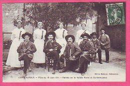 CHATEAUROUX FETE DU 18 JUIN 1911 REINES DE LA VALLEE NOIRE ET CORNEMUSEUX MUSIQUE - Chateauroux