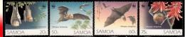 Samoa 0763/66** Chauve-souris  WWF  MNH