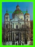 VILNIAUS, LITUANIE, VILNIUS  - SS. PETER & PAUL'S CHURCH  - FOT. J. JAKIMAVICIUS , 1990 - MINTIS - - Lituanie